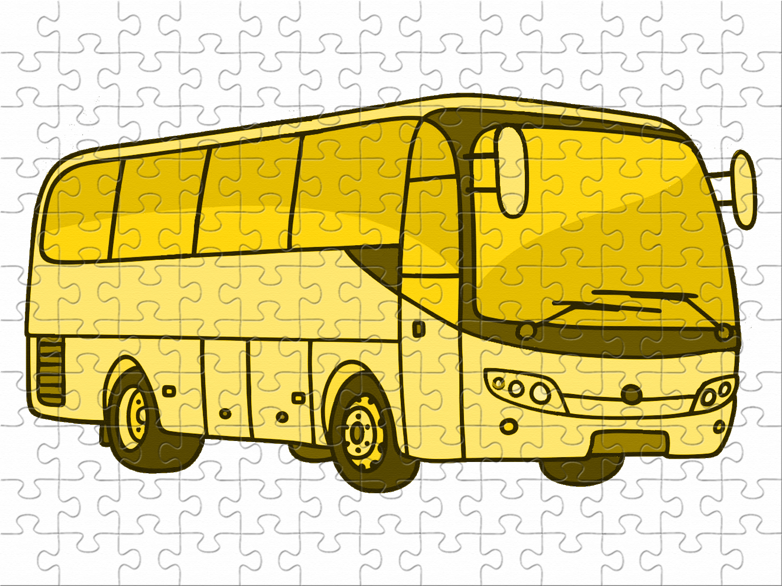 Bus jaune pale V2